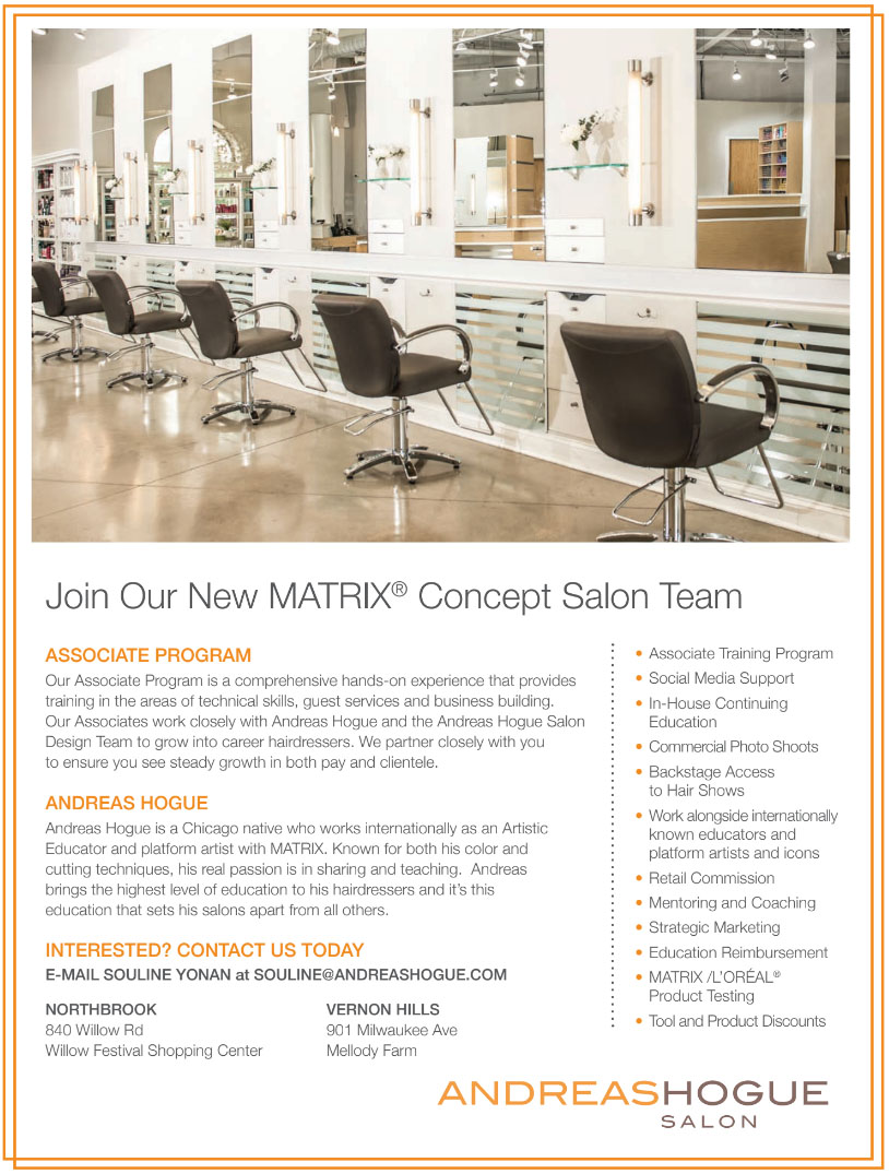 Andreas Hogue - Join Our New Matrix Concept Salon Team